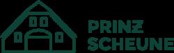 """Logo """"Prinz Scheune"""" in Grün"""